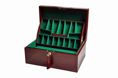 Chess Staunton Mahogany Coffer Fitted Specifications Manufacturer