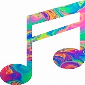 """""""Rainbow Music Note"""" Stickers by adjsr Redbubble"""