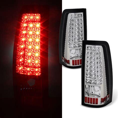 02 silverado tail lights 99 02 chevy silverado gmc sierra c style led tail lights