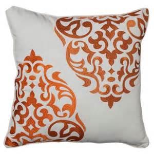 mudhut hope medallion decorative pillow orange target