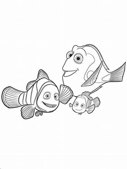 Dory Procurando Pintar Desenhos Dorie Nemo Marlin