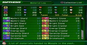 Synthesis Materials - Kingdom Hearts 2 Wiki Guide