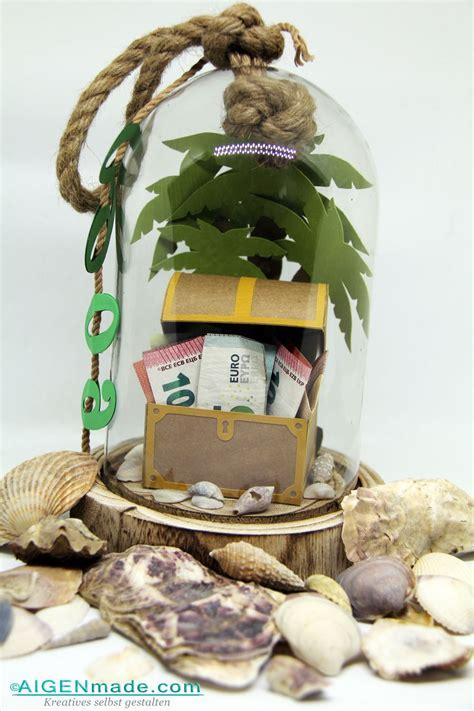 geschenke für männer zum geburtstag selber machen insel mit schatzkiste zum 60 geburtstag basteln mit