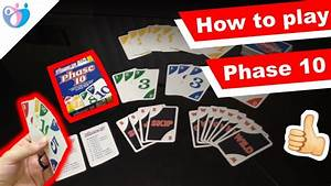 How To Play Phase 10  Quick Phase 10 Rules Overview Under