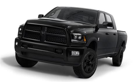 truck car black introducing the ram heavy duty black ramzone