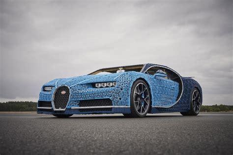 Lifesize Lego Bugatti Chiron Actually Works, Has Over 1