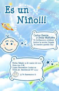 ideas for a boy baby shower modelos de invitaciones para baby shower tarjetas para