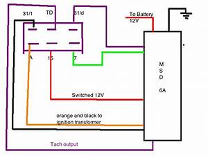 Msd Wiring Diagram Trigger Point