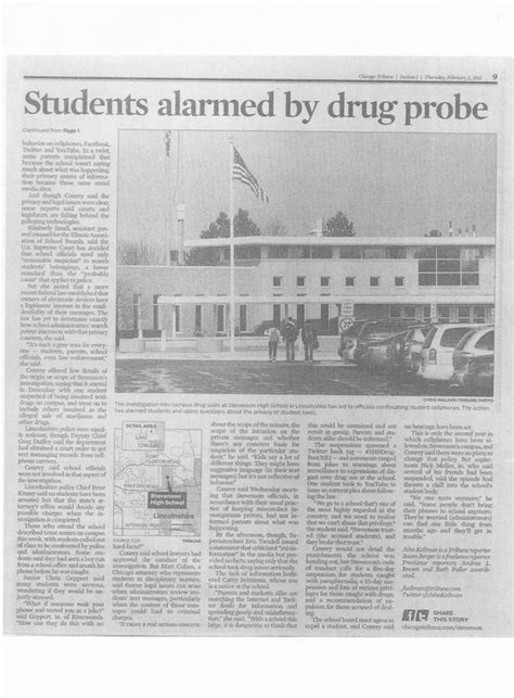 students 39 text messages used in north suburban drug probe