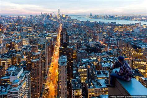 birds eye view   york city