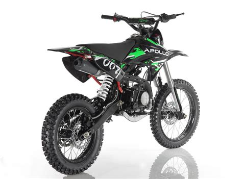 Orion Apollo 125cc Dirt Bike (#007) Larger Wheels