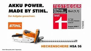 Benzin Heckenschere Test Stiftung Warentest : stihl hsa 56 akku heckenschere stiftung warentest testsieger ~ Michelbontemps.com Haus und Dekorationen