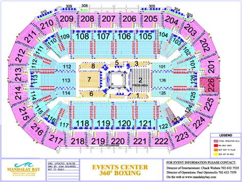 Mandalay Bay Arena Floor Plan by Mandalay Bay Arena Floor Plan Floor Matttroy