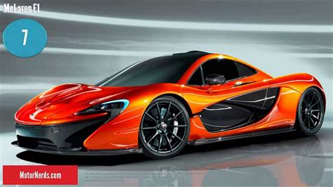 Fast Cars. What's The Worlds Fastest Car? Top 10 Fastest