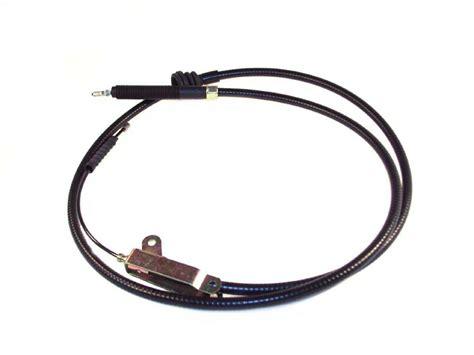 cable frein a cable de frein 224 avant volvo 760 940 et cable de frein 224 avant volvo 960 avec
