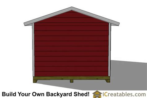 12x24 storage shed plans 12x24 garage shed plans icreatables