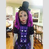 Homemade Broken Doll Costume | 720 x 960 jpeg 92kB