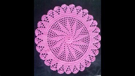 Como Hacer Un Tapete O Carpeta A Crochet En Español (2