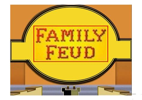 family feud template powerpoint freefamily feud game