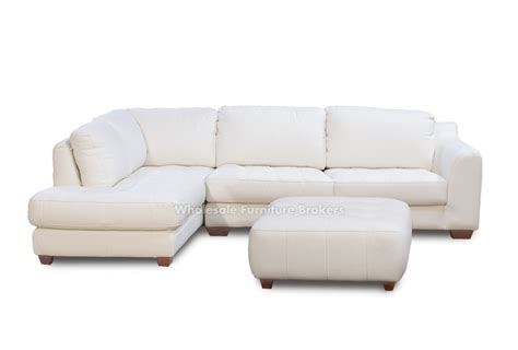 white sofas for sale zen white leather sectional sofa with chaise laf by z mod