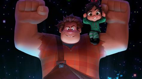 wreck  ralph  trailer  raised   red