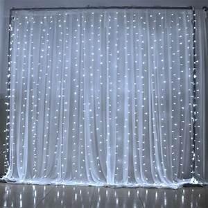 Rideau Fil Ikea : guirlande lumineuse rideau de lumi re 300 led lumi res mariage christmas festival rideau cordes ~ Teatrodelosmanantiales.com Idées de Décoration