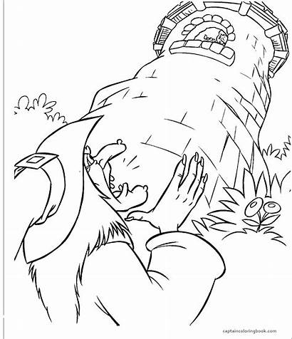 Rapunzel Story Card Coloring Pages Making Title