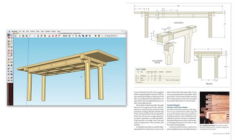 retired sketchup blog case study popular woodworking