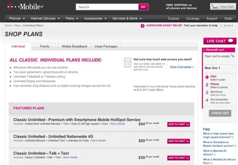 t mobile smartphone plan comparing smartphone plans from at t sprint t mobile and