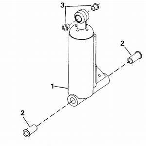 Johnson Tilt Assist Cylinder Parts For 1990 40hp Tj40elesf