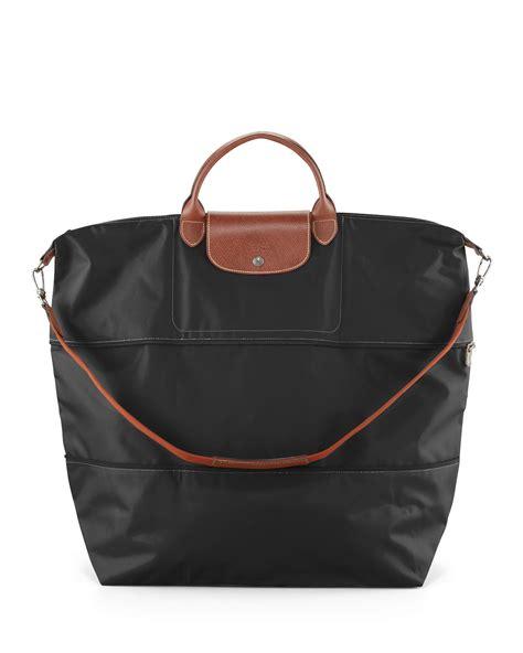 longchamp le pliage expandable travel bag neiman marcus