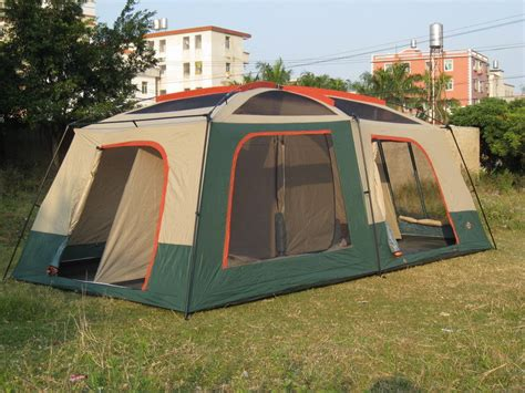 tente 2 chambres large family tent 8 12 person layer uv50