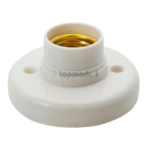 5x e27 base plastic light bulb l socket