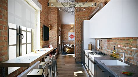 3 Stylish And Industrial Inspired Loft Interiors 3 stylish industrial inspired loft interiors