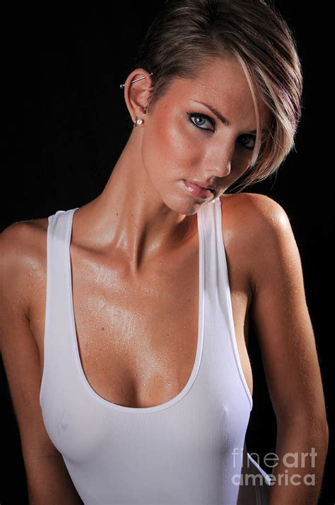 Wet Tank Top Photograph By Jt Photodesign
