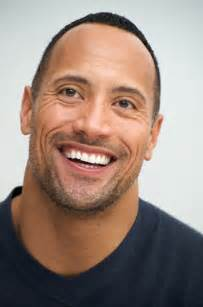 Dwayne Johnson Smile