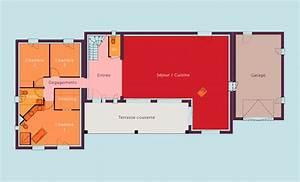 plan maison architecte plain pied plan de maison de With plan de maison 2 pieces 6 devis gratuit maison individuelle bois prix au m2