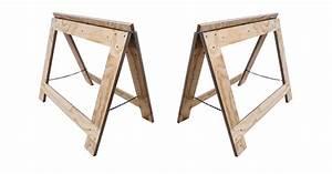 How To Make Folding Saw Horses - IBUILDIT CA