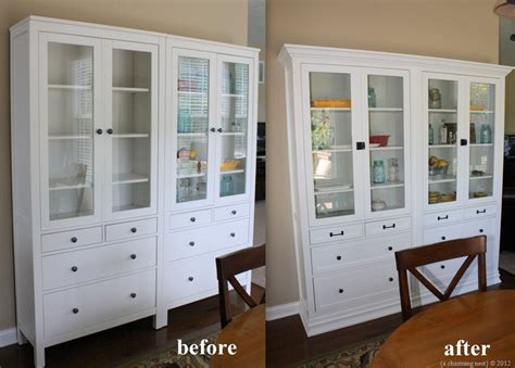 ikea built in cabinets ikea built ins living room pinterest ikea hemnes