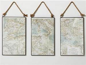 diy map triptych diy show off tm diy decorating and With directions to pottery barn