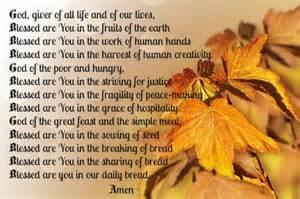 Thanksgiving Prayers Blessings