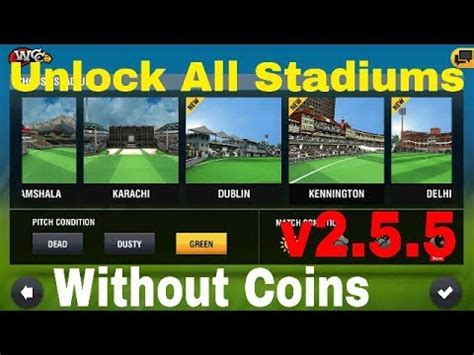 wcc2 new version 2 5 5 unlock all stadium youtube
