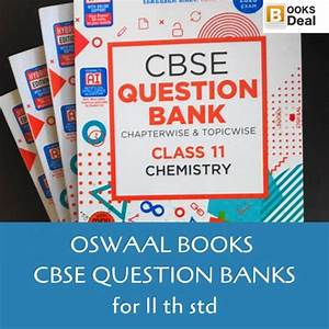 Oswaal Cbse Quesion Bank 11 Th Std Science Group Full Set