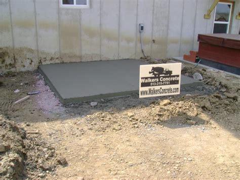 walkers concrete llc residential concrete concrete