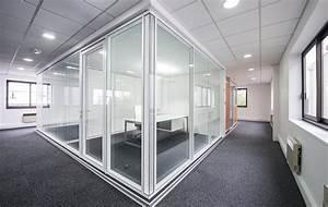 Cloison Acoustique Bureau : cloison amovible bureau pas cher beautiful cloison ~ Premium-room.com Idées de Décoration