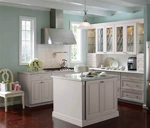 12 inspirations of best paint colors for kitchen with With kitchen colors with white cabinets with mermaid canvas wall art