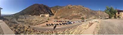 Arizona Jerome Mine Open Pit Verde United