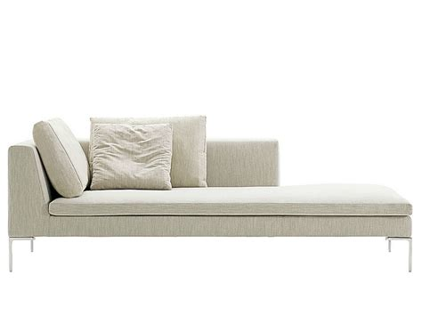 canapé chaise longue charles day bed by b b italia design antonio citterio