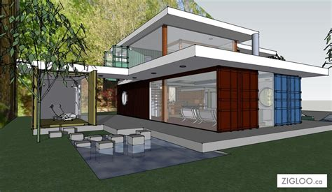small house plans with courtyards flw container house zigloo custom container home design