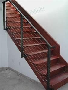 Geländer Für Treppe : kohlenstoffstahl beitrag mit stahlseil gel nder f r ihre ~ Michelbontemps.com Haus und Dekorationen